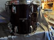 Vintage 1980-83 Pearl Marching Snare Drum 14X12 Maple Shell Burgundy Wine Color